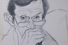 Schizzo Ritratto Piero Fassino