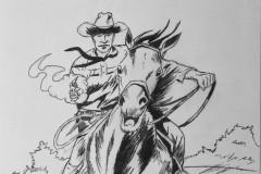 Tex Willer a Cavallo