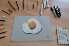Uovo Fritto - Materiali