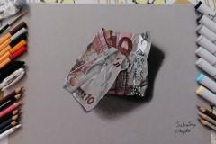 10 Euro - Materiali