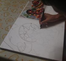 Come trasferire un Disegno su Tela con PosterRazor