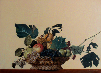 Copia Canestra di Frutta di Caravaggio