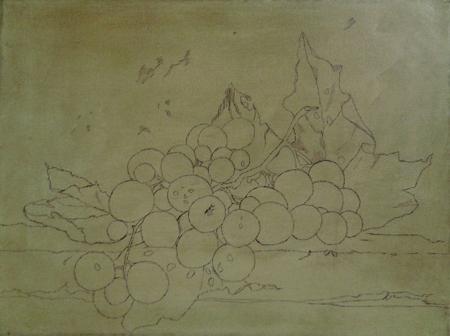 Campitura Dipinto Uva