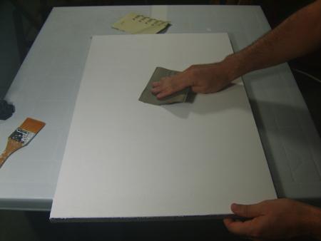 Scartavetrare Prima Mano Imprimitura