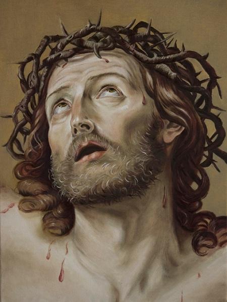 Amalia La Rosa - Copia Cristo Guido Reni