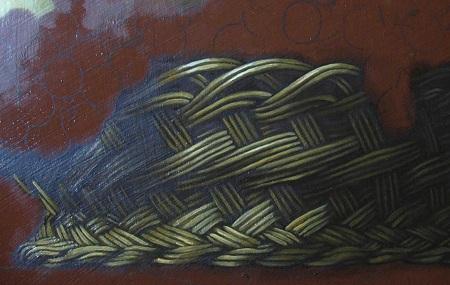 Canestra di Frutta di Caravaggio - Cesto di Vimini