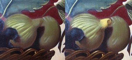 Canestra di Frutta di Caravaggio - Fichi