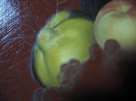 Canestra di Frutta di Caravaggio - Melacotogno