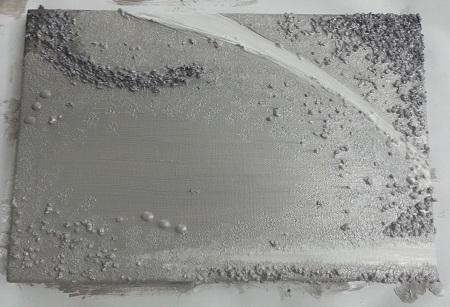 Quadro Materico - Foto sfondo finito