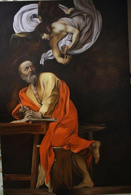 Mauro Pucci - San Matteo e l'Angelo