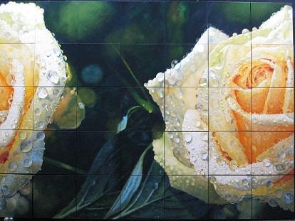 Roberto Camparenut - Rose Bianche