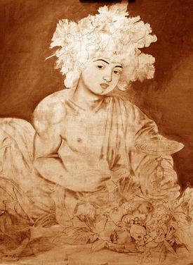 Come dipingere il Bacco di Caravaggio