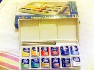 colori acquarelli tascabili winsor&newton