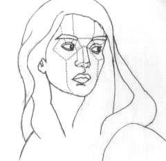 come disegnare piani facciali nel ritratto