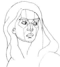 Come disegnare e dipingere un ritratto rendendo il volume for Come disegnare piani di costruzione
