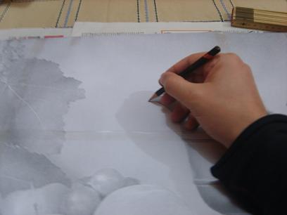Come trasferire un disegno sulla tela con PosterRazor