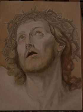 Copia Cristo - Guido Reni - 1° Fase Colore