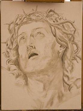 Copia Cristo - Guido Reni - 2° Grisaglia