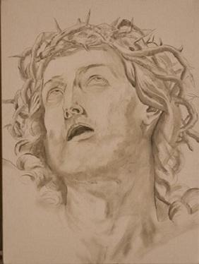 Copia Cristo - Guido Reni - Grisaglia finale