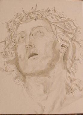 Copia Cristo - Guido Reni - Grisaglia