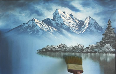 Paesaggi invernali da dipingere