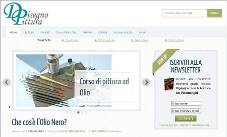 Nuovo sito web di Disegno & Pittura