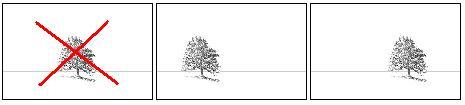 Divisione dello spazio nella Composizione del Paesaggio