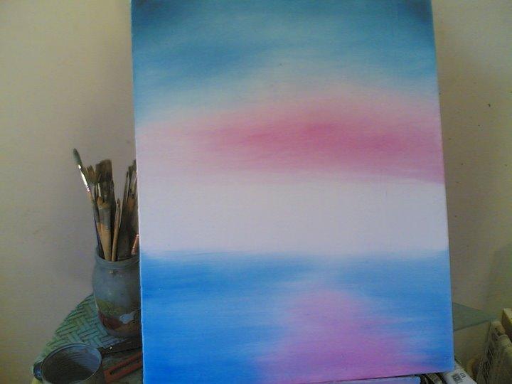 Paesaggio ad olio disegno pittura for Colori ad olio professionali