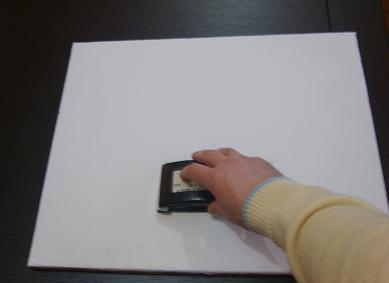 Imprimitura Tela con gesso e colla