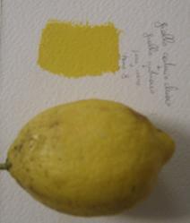 Mescolare colore giallo limone