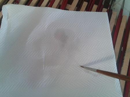 Oliatura - pulire pennello