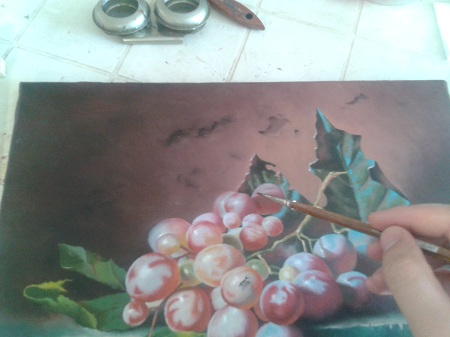Oliatura - uva