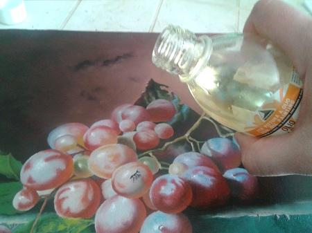 Oliatura - Versare l'Olio