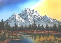 Paesaggi primaverili da dipingere • Fase 1