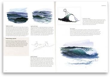 Painting the sea in olis using special effects - Section 2