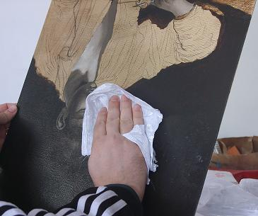 Tecniche di pittura ad olio: la patata