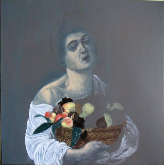 Ragazzo con il canestro di frutta - Fase 1