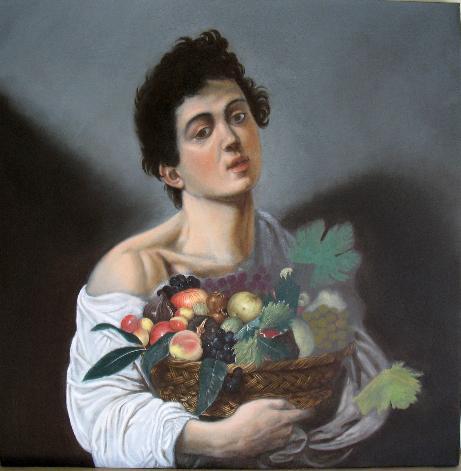Ragazzo con il canestro di frutta - Fase 4