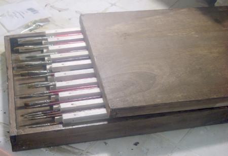 Come creare un astuccio per pennelli