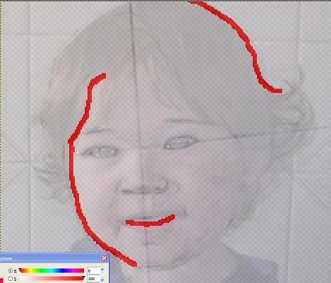 Ritratto Bambino Overlap