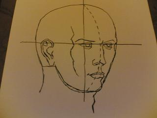 Come disegnare un viso in movimento secondo l'artista Burne Hogart