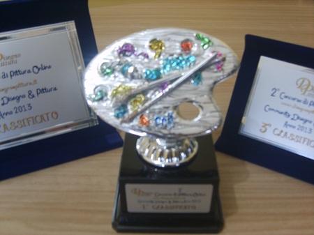 Primo Premio 2° Concorso di Pittura Online