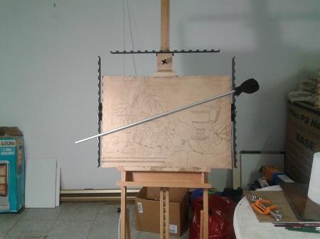 Come costruire un cavalletto da pittore interesting for Cavalletto pittore ikea