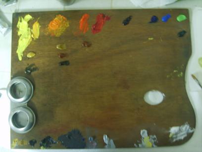 Tavolozza dei colori completa